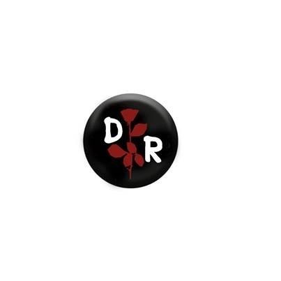 Depeche Reload - DR Rose, Button